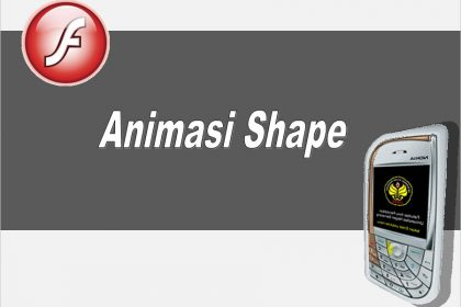 animasi shape