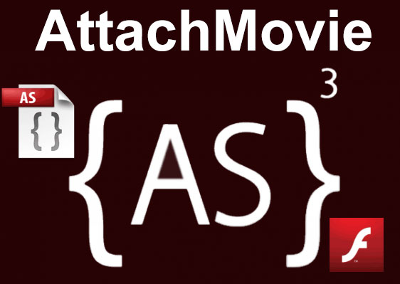 Simple AttachMovie Action Script 3 Flash