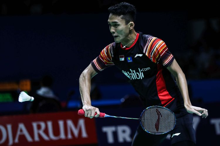 Jonatan Christie Susul Anthony Ginting