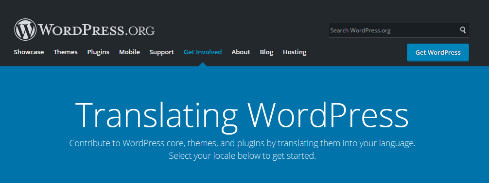 Translate di WordPress