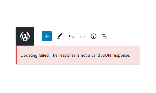 Featured mengatasi updating failed the response is not a valid JSON response